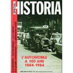 Historia Spécial n° 449 - L'automobile a 100 ans  (1884-1984)