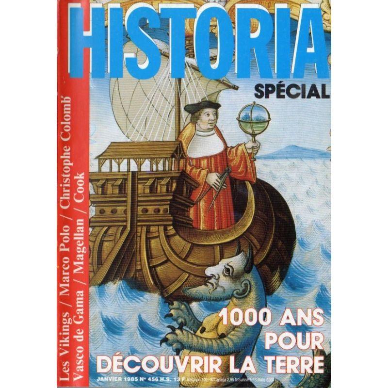 Historia Spécial n° 456 - 1000 ans pour découvrir la Terre