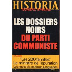 Historia Spécial n° 354 bis - Les Dossiers noirs du Parti Communiste