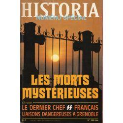 Historia Spécial n° 356 bis - Les morts mystérieuses