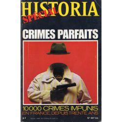 Historia Spécial n° 367 bis - Crimes parfaits