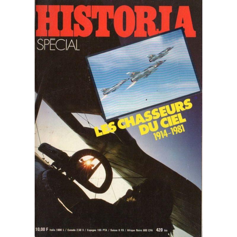 Historia Spécial n° 420 bis - Les chasseurs du ciel 1914-1981