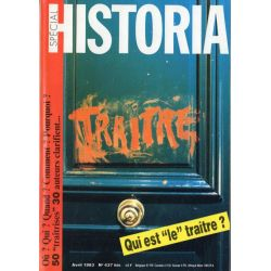 """Historia Spécial n° 437 bis - Qui est """"le"""" traitre ?"""