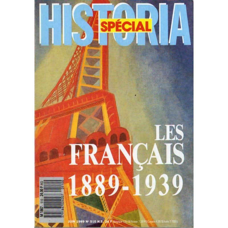 Historia Spécial n° 510 H.S. - Les Français (1889-1939)