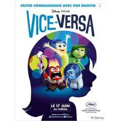 Affiche film Vice-Versa (Walt Disney - Pixar