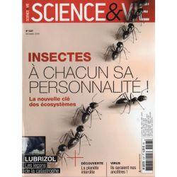 Science & Vie n° 1227 - Insectes : A chacun sa personnalité !