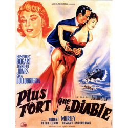 Plus fort que le Diable (de John Huston) affiche