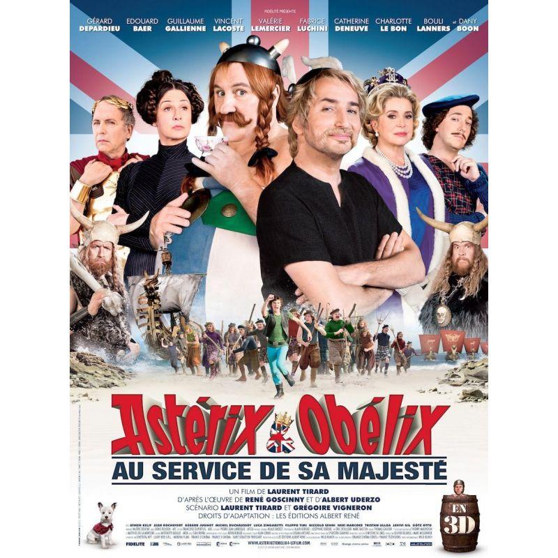Astérix & Obélix au service de sa Majesté affiche film