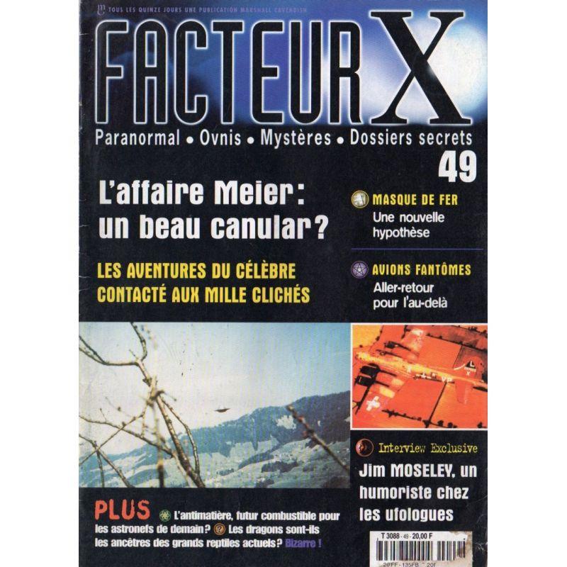 Facteur X - n° 49 - L'Affaire Meier : un beau canular ?