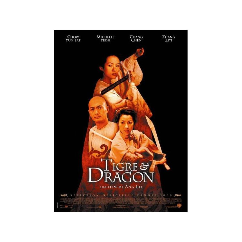 Tigre & Dragon (de Ang Lee) affiche film