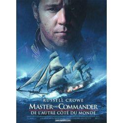 Master and Commander : De l'autre côté du monde affiche du film