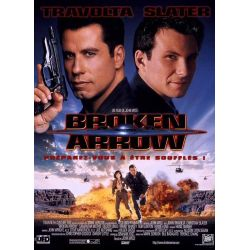 Broken Arrow (John Travolta) affiche film