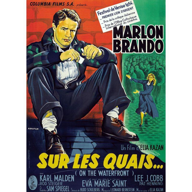 Sur les Quais (Marlon Brando) affiche du film