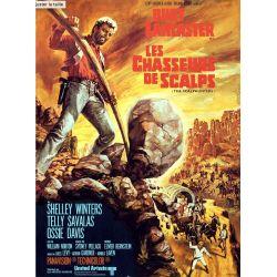 Les Chasseurs de Scalps (Burt Lancaster) affiche