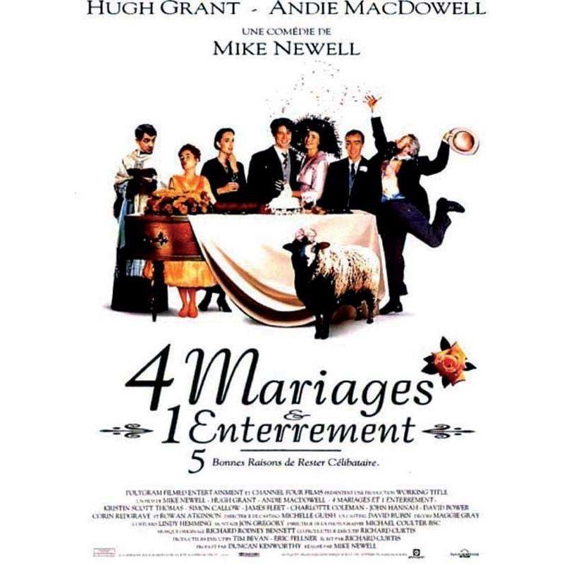 4 mariages 1 Enterrement (Hugh Grant)
