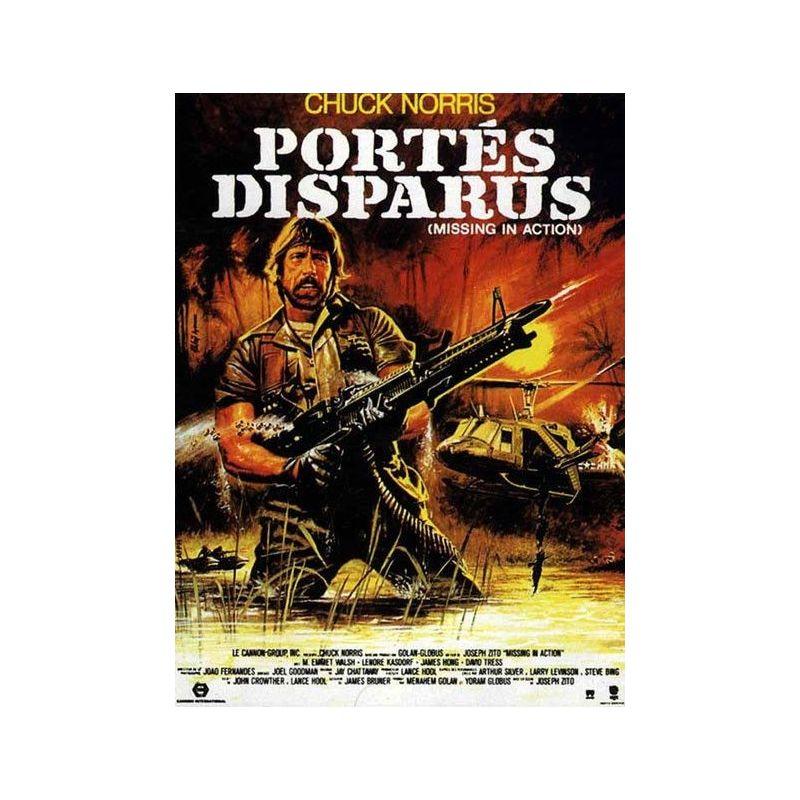 Portés Disparus (Chuck Norris) affiche film