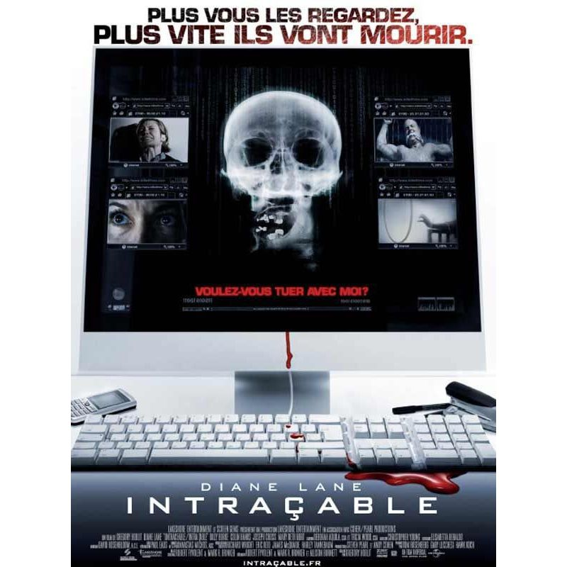 Intraçable (Diane Lane) affiche film