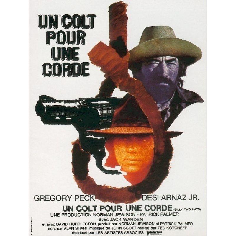 Un Colt pour une Corde (Gregory Peck) affiche film