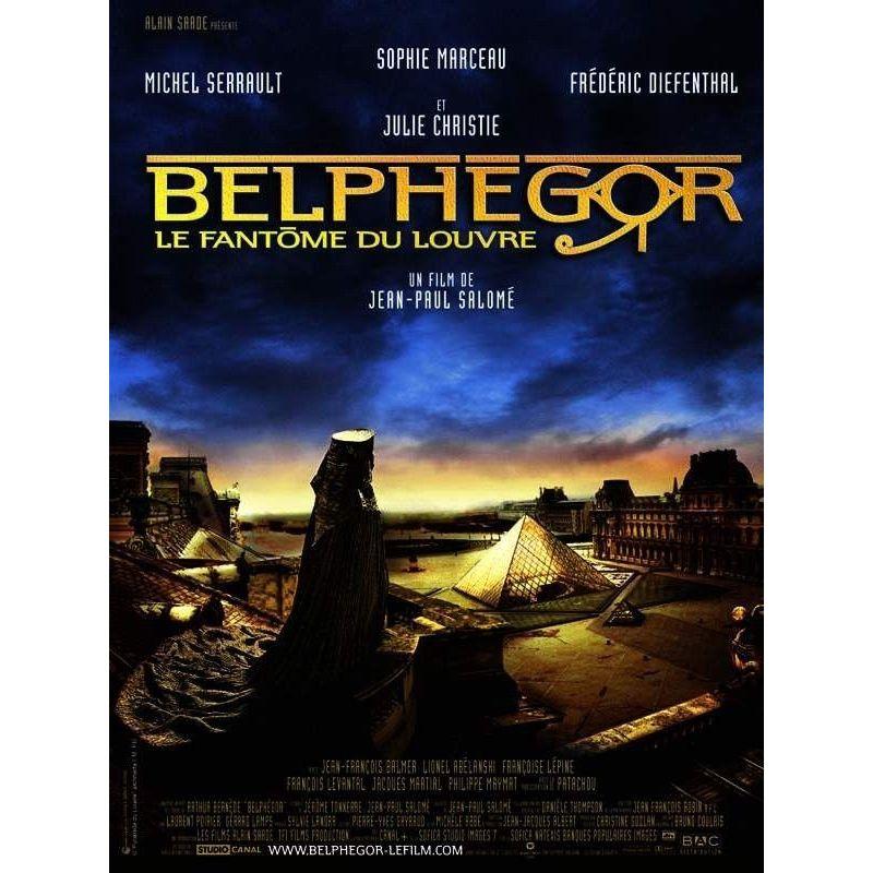 Belphégor - le fantôme du Louvre (Sophie Marceau) affiche film