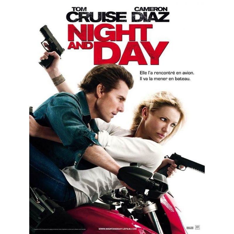 Night and Day (Tom Cruise)  affiche film
