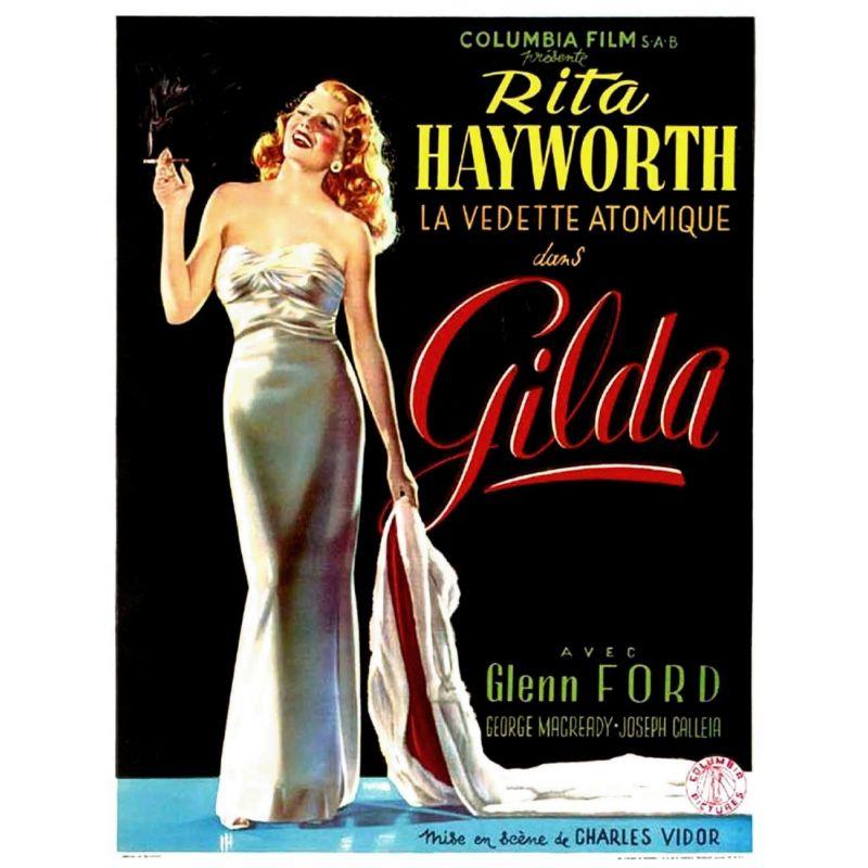 Gilda (Rita Hayworth)  affiche film