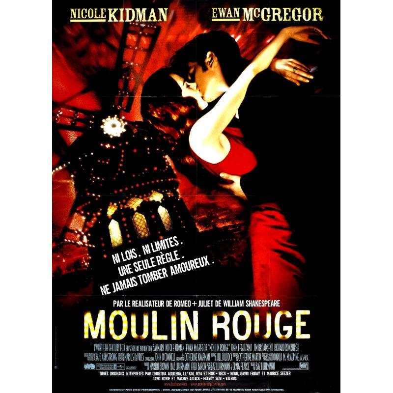 Moulin Rouge (Nicole Kidman) affiche film