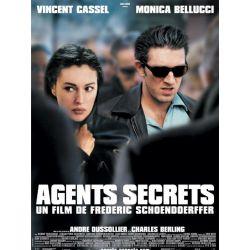 Agents Secrets (Vincent Cassel) affiche film