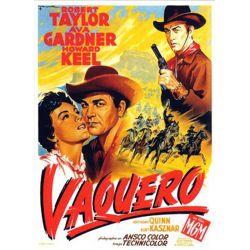 Vaquero (Robert Taylor)  affiche film