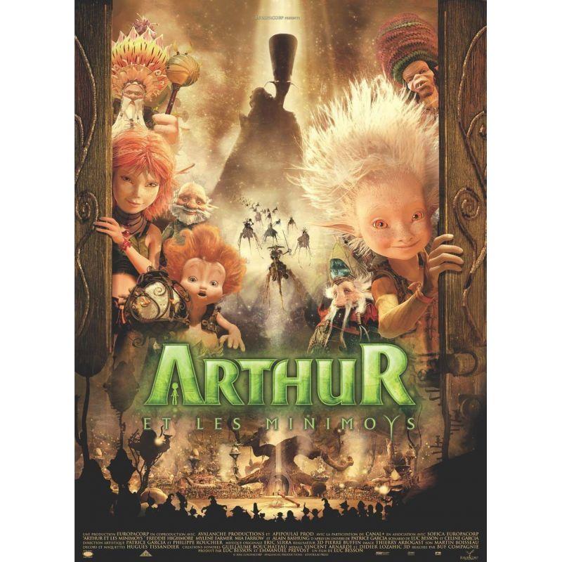 Arthur et les Minimoys (de Luc Besson) affiche film