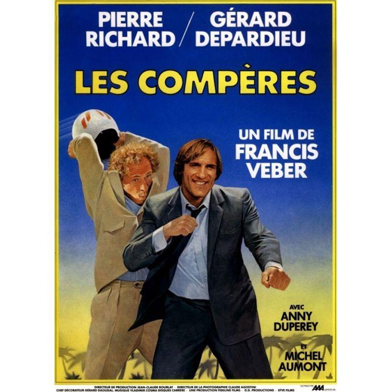 Les Compères (Pierre Richard) affiche film