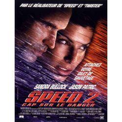Speed 2, cap sur le danger (Sandra Bullock) affiche film
