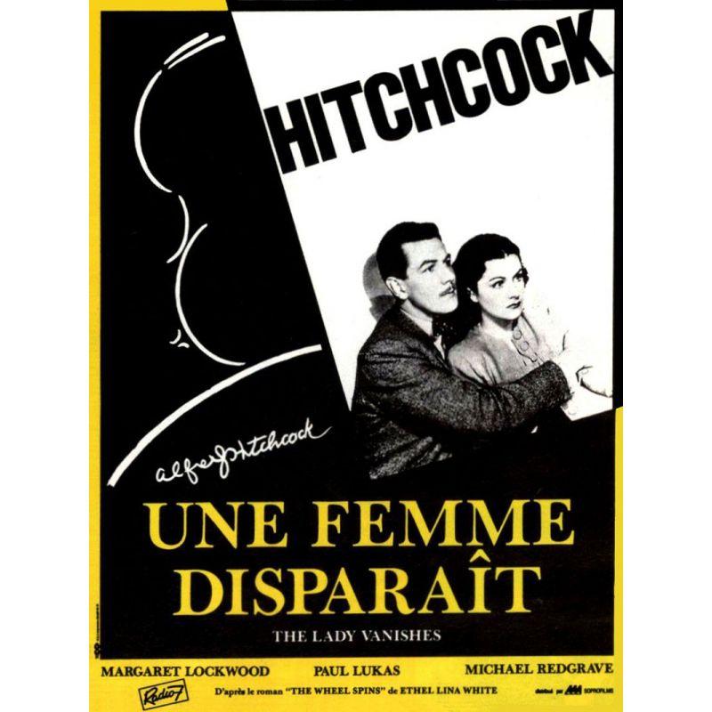 Une Femme disparaît (d'Alfred Hitchcock) affiche film