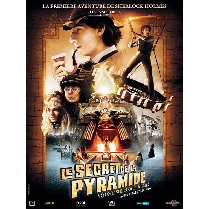 Le Secret de la Pyramide (Steven Spielberg) affiche film