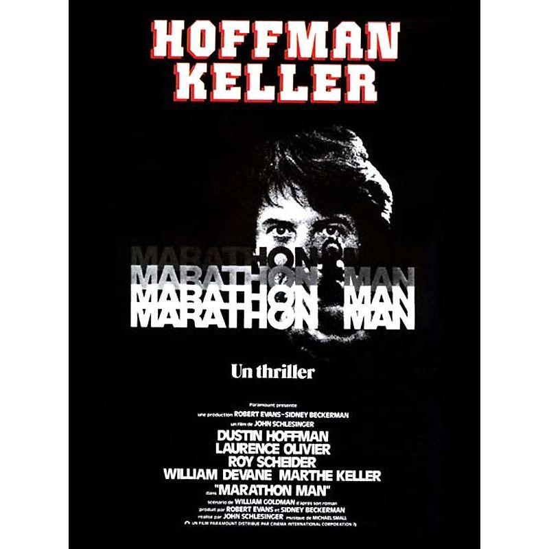 Marathon Man (Dustin Hoffman) affiche film