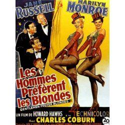 Les Hommes préfèrent les Blondes (de Howard Hawks) affiche film