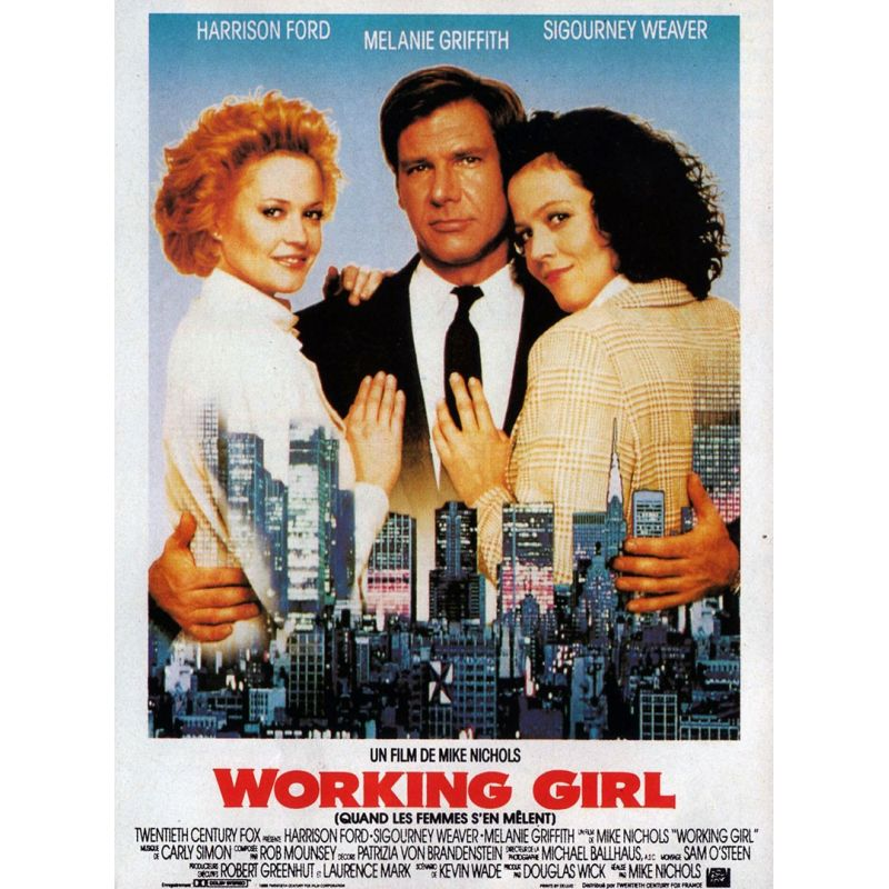 Working Girl (Harrison Ford) affiche film