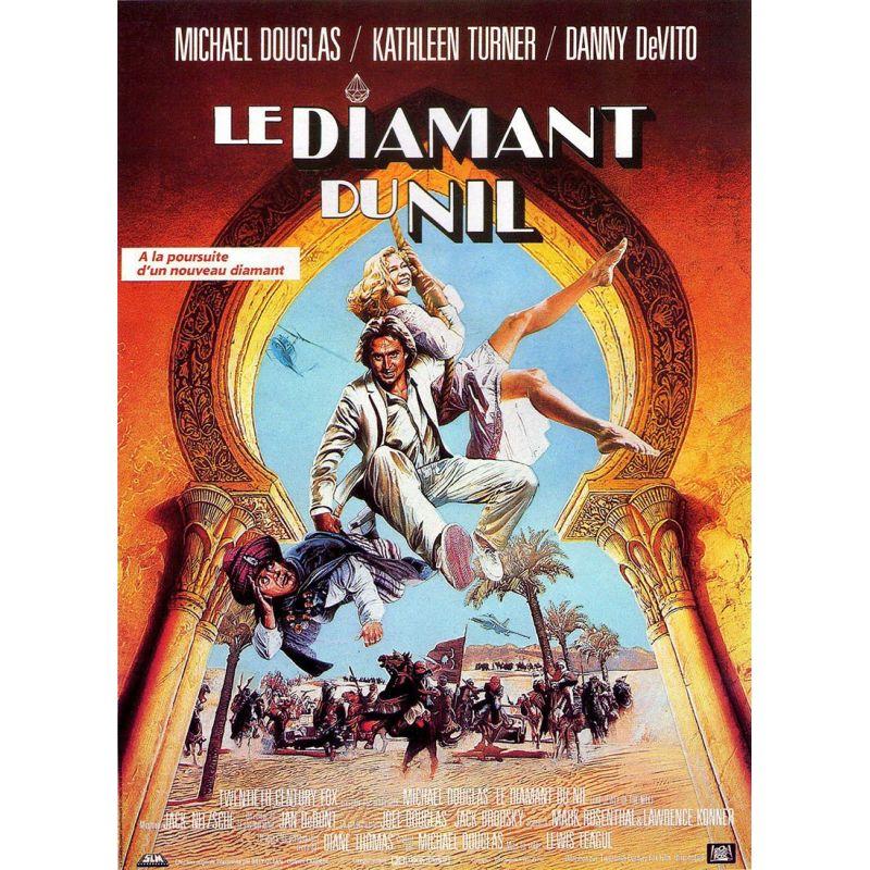 Le Diamant du Nil (Michael Douglas) affiche film