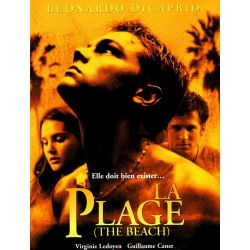 La Plage (Leonardo DiCaprio)  affiche film