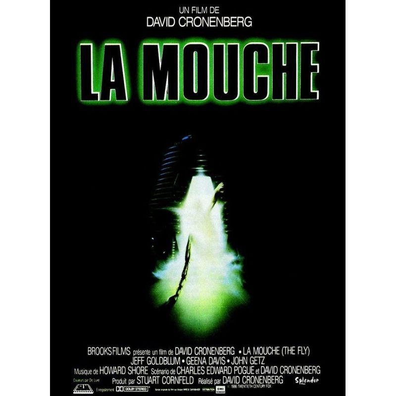 La Mouche (de David Cronenberg) affiche film
