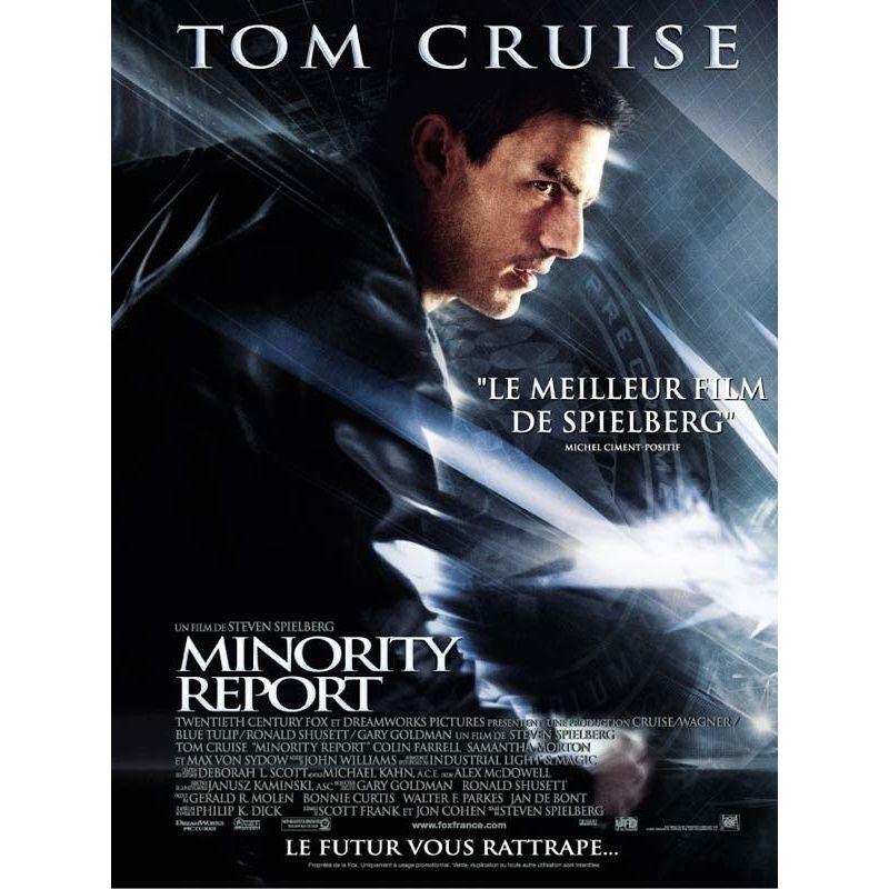 Minority Report (de Steven Spielberg) affiche film