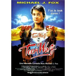 Teen Wolf (Michael J. Fox)  affiche film