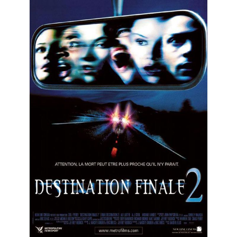 Destination Finale 2 affiche film