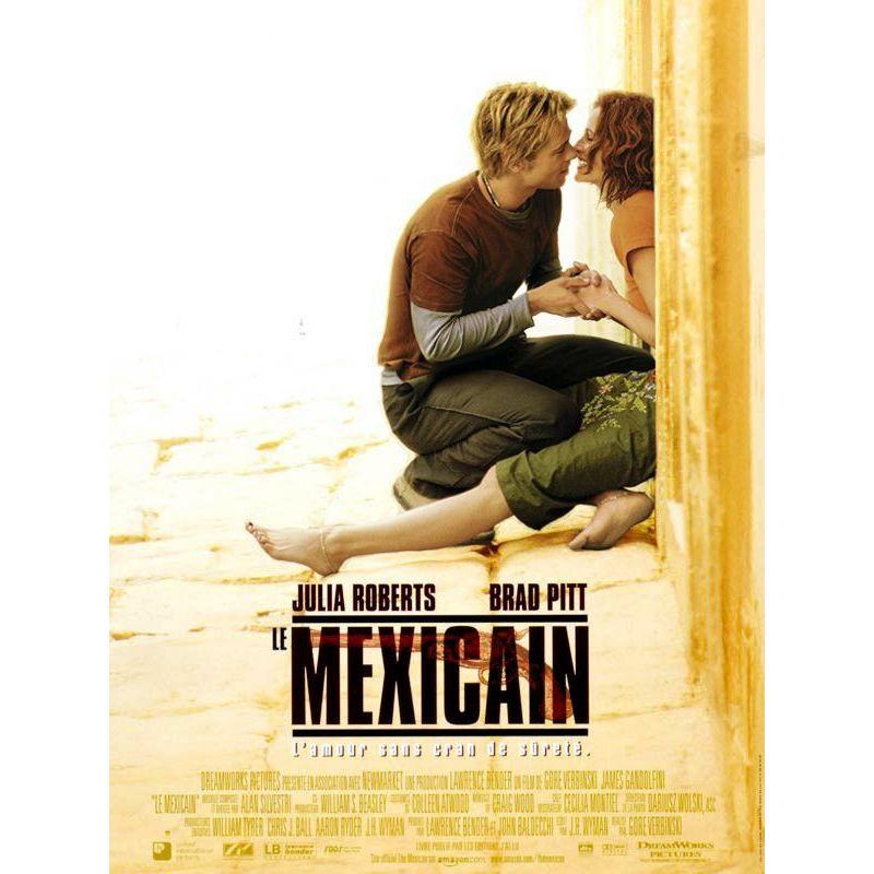 Le Mexicain (Brad Pitt)  affiche film