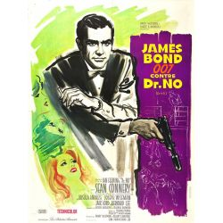 James Bond contre Dr No affiche film