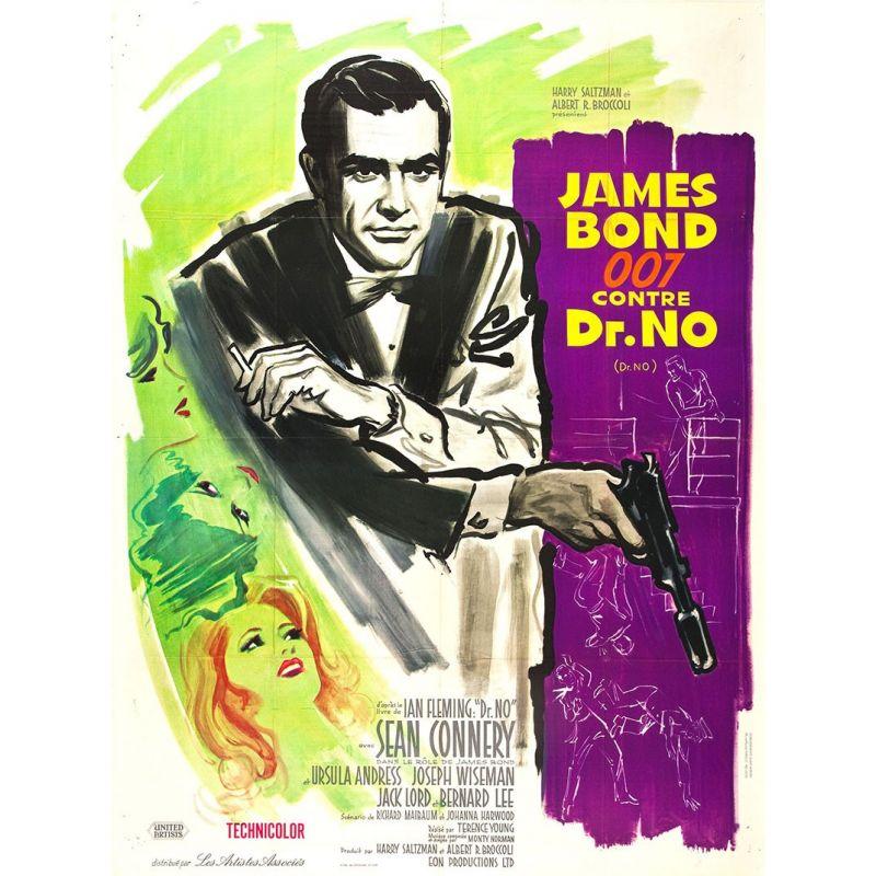 James Bond contre Dr No affiche film