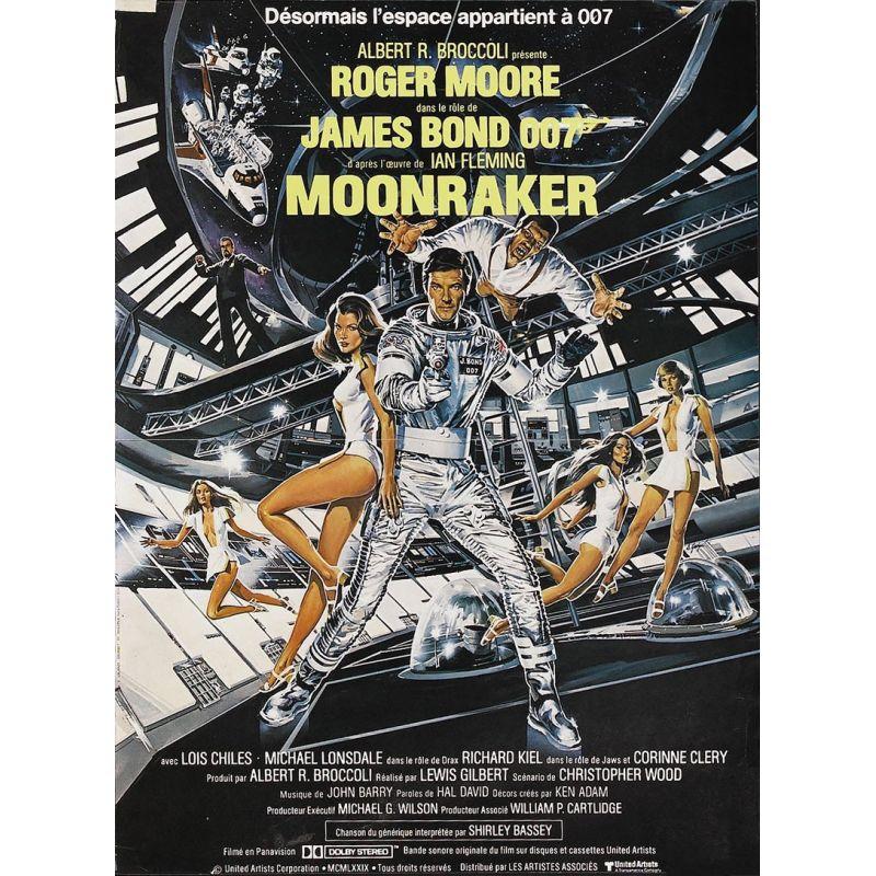 James Bond - Moonraker affiche film