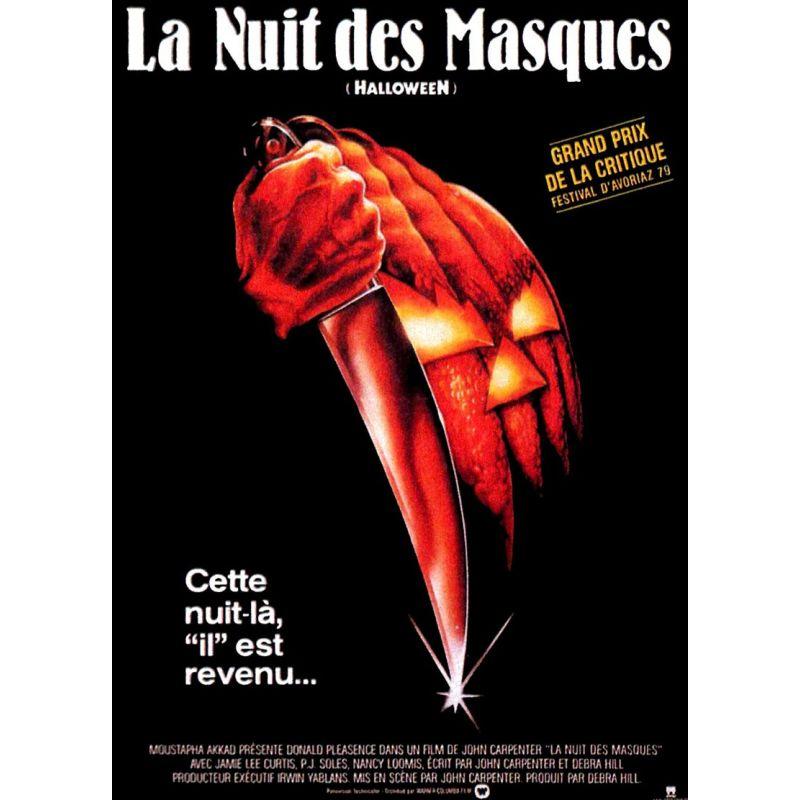 Halloween, la Nuit des Masques affiche film