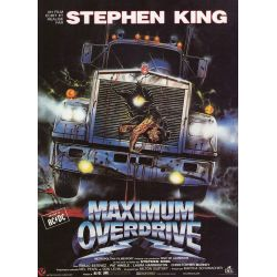 Maximum Overdrive (Stephen King) affiche film