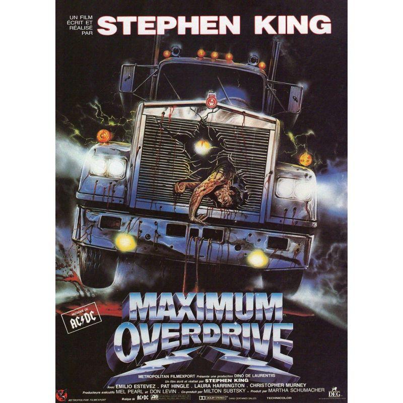 Maximum Overdrive (Stephen King) affiche film