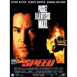 Speed (Keanu Reeves) affiche film
